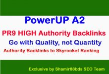 PowerUP A2 – Manual 50 PR9 HIGH Authority Backlinks to Skyrocket Ranking